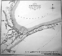 Scottish Town Plans - Rothesay 1821 (John Wood map)