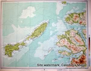 Atlas Of Scotland Ardnamurchan Tiree Coll Muck Mull