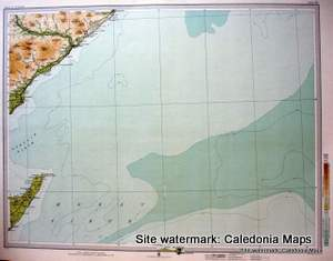 Atlas of Scotland  -  Helmsdale in Sutherland plus major parts of Moray Firth Sheet 49 Original 1912