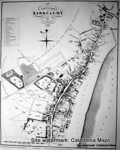 Scottish Town Plans - Kirkaldy 1824 (John Wood map)
