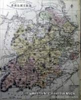 County Map of Scotland - 1847 -  Selkirkshire