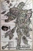 County Map of Scotland - 1847 - Argyll & Bute