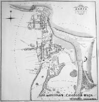 Scottish Town Plans -  Banff 1818 (John Wood map)