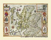 Scotland in1610 by John Speed