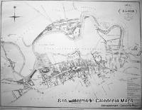 Scottish Town Plans -  Elgin 1822 (John Wood map)