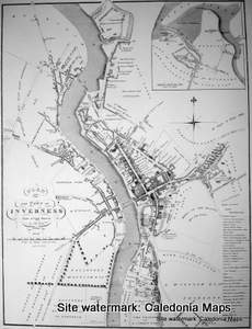 Scottish Town Plans - Inverness 1821 (John Wood map)