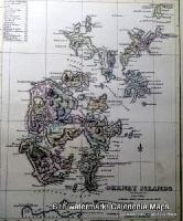 County Map of Scotland - 1847 - Orkney
