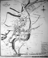 Scottish Town Plans - Jedburgh, Roxburghshire 1823 (John Wood map)