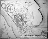 Scottish Town Plans -  Berwick 1822 (John Wood map)