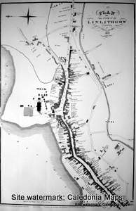 Scottish Town Plans - Linlithgow 1820 (John Wood map)
